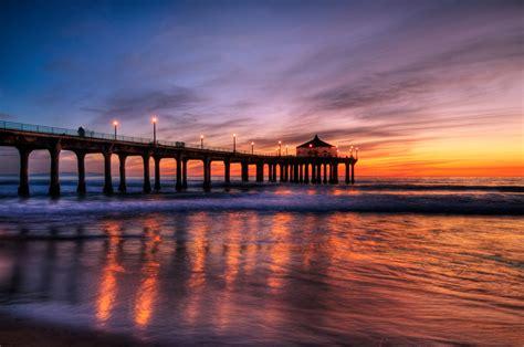 pier beach manhattan beach pier flickr photo sharing