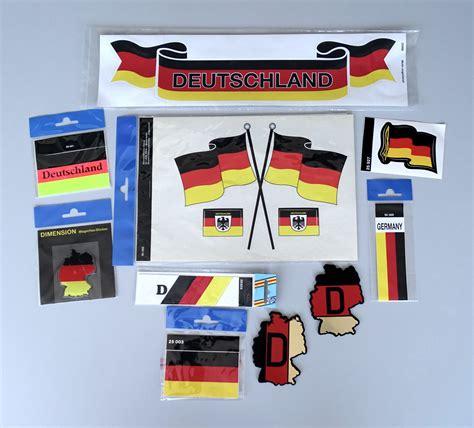Flaggen Aufkleber Shop by Aufkleber Deutschland Flaggen 3er Set 310 X 210 Mm