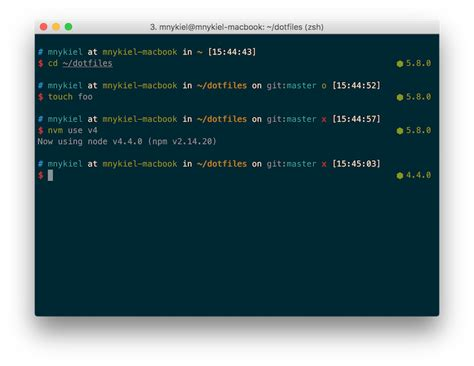 themes zsh external themes 183 robbyrussell oh my zsh wiki 183 github
