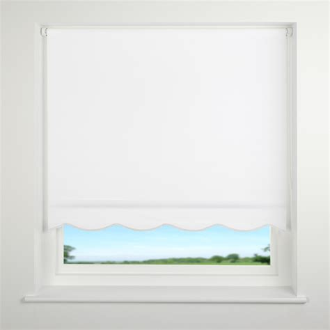 Roller Shades With Scalloped Edge | universal scalloped edge roller blind ebay