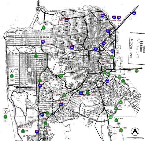 map of california highways and freeways san francisco trivia soulofamerica