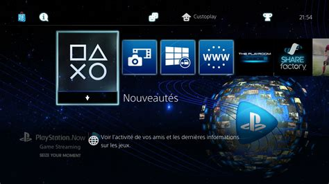 les themes ps4 playstation now t 233 l 233 charger un th 232 me ps4