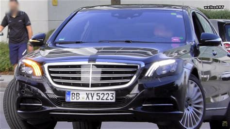 mercedes 2018 s class 2018 mercedes s class spied with revised headlights and