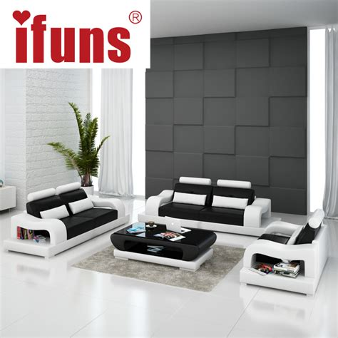 home furniture design with price ifuns 2016 new modern design american home living room furniture 1 2 3 big size genuine cow