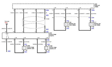 thunderbird wiring harness the stereo wiring diagrams 2005 ford