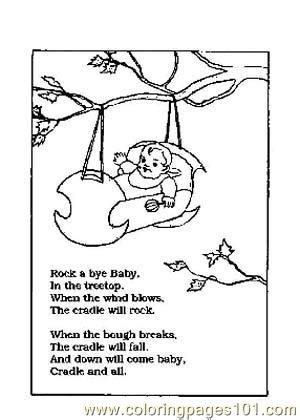 nursery rhyme coloring pages pdf nursery rhymes picture 36 coloring page free school