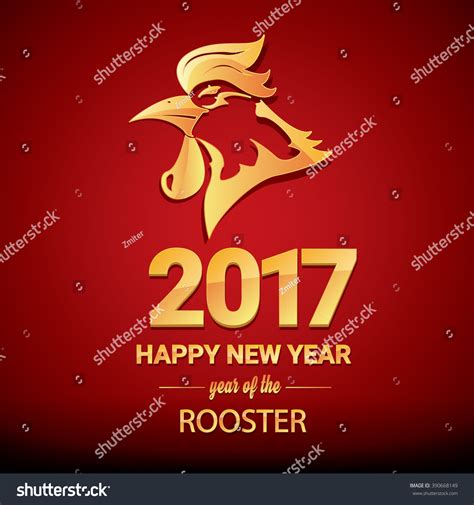 new year 2017 animal new year 2017 animal rooster