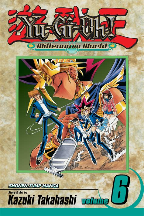 Komikmanga Yugioh Vol 1 2 6 yu gi oh millennium world vol 6 book by kazuki takahashi official publisher page simon