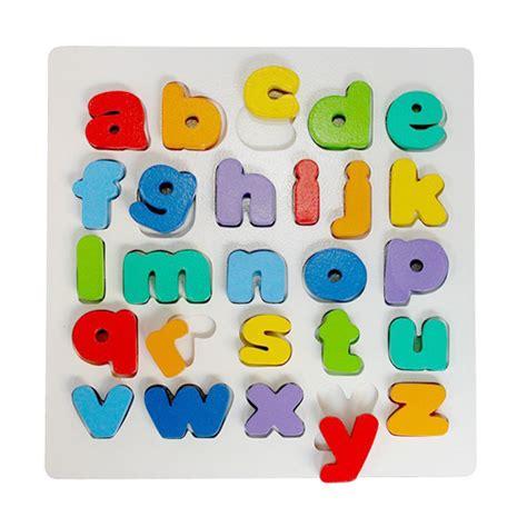 Promo Maian Anak Puzzle Memoriza jual istana bintang mainan kayu chunky puzzle huruf kecil