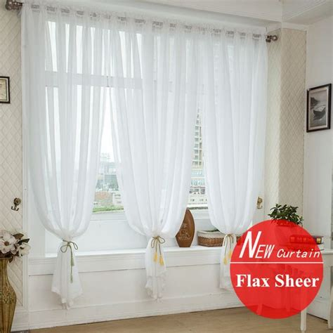 wedding sheer drapes quality window screening for wedding decoration linen