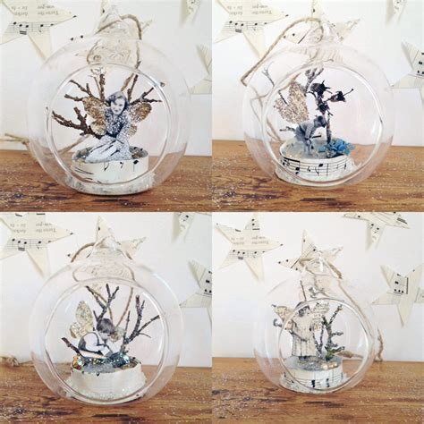Handmade Glass Baubles - handmade bauble shop update lobster and swan