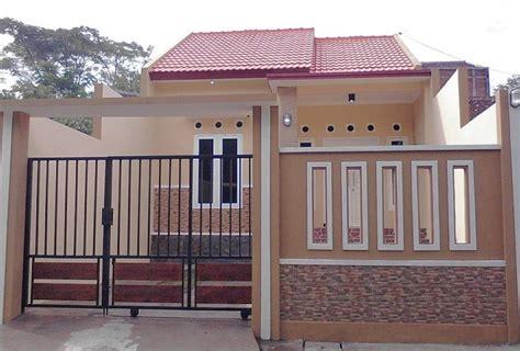 gambar desain warna cat pagar rumah klasik