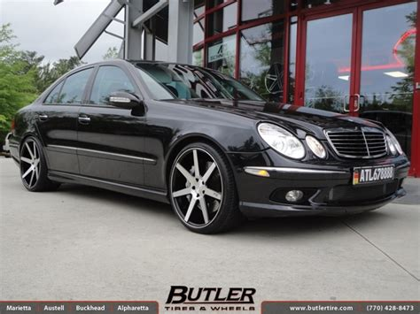mercedes  class   niche verona wheels exclusively  butler tires  wheels