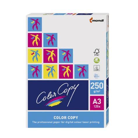 color copy color copy 250gsm a3 digital copy paper 125 sheet ream