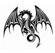 Black Dragon — Stock Vector &169 Nihongo 55856001