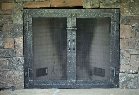 flat fireplace screen with doors fitted flat door fireplace screen fireplace ideas