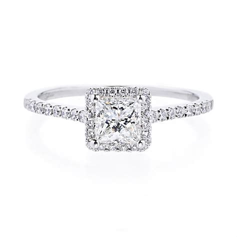 17 best ideas about princess cut rings on