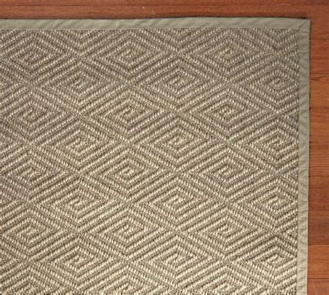 Stark Concepts Custom Diamond Sisal Rug Platinum Pottery Barn Runners Rugs