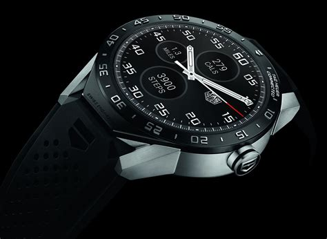 connected tag heuer d 233 voile officiellement sa premi 232 re montre connect 233 e frandroid - Tag Android