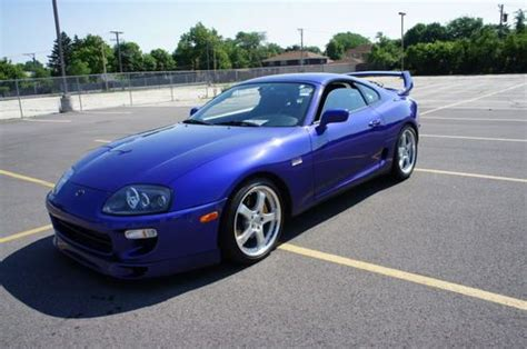 airbag deployment 1997 toyota supra parking system purchase used 1997 toyota supra rare rsp color only 38k miles in elmwood park illinois