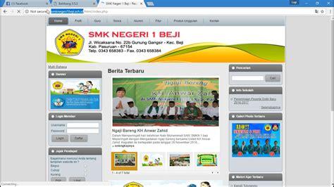 tutorial deface website sekolah deface web sekolah dengan cms balitbang 2017