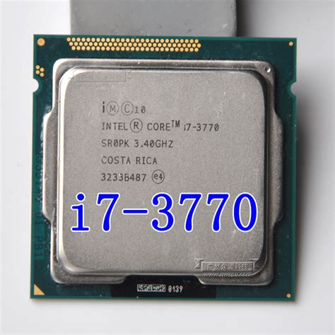 intel i7 3770 3 4ghz 8m 5 0gt s lga 1155 sr0pk cpu desktop processor in processors from
