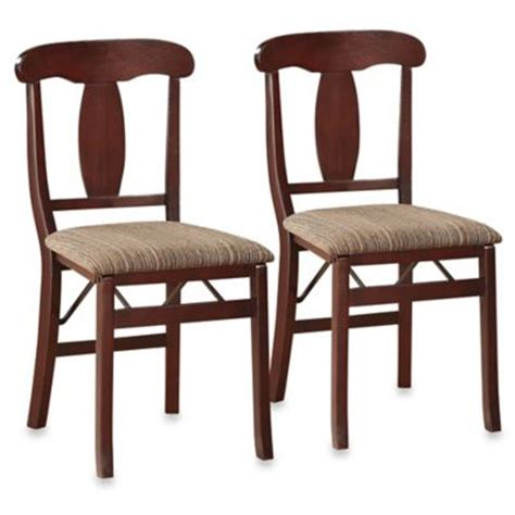 dining room folding chairs buy dining room folding chairs from bed bath beyond