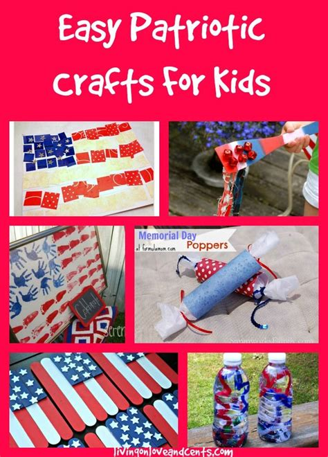 easy fourth of july crafts for easy patriotic crafts for 4th of july memorial day