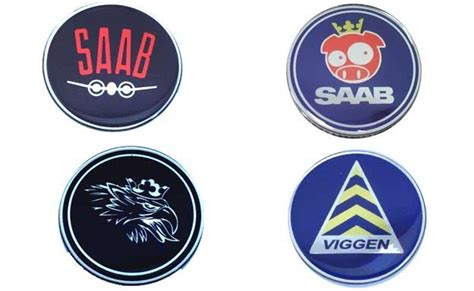 saab replacement decal stickers
