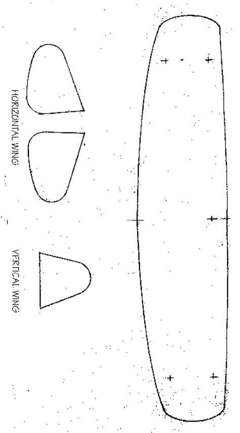 airplane cut out template build a biplane
