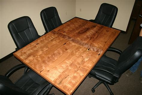 conference table for 6 made the crockett 4 x 6 burl conference table by