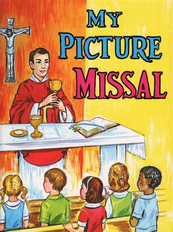 St Joseph Picture Books My Picture Missal