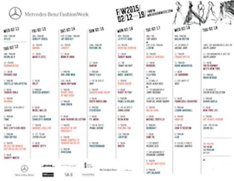 Fashion Calendar Fashion Calendar Archives V Fashion World