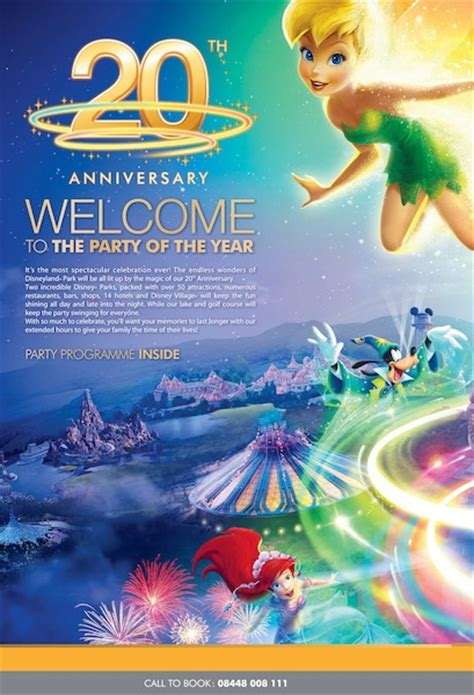 Eurodisney Brochure Renanlopes Me Disney Flyer Template