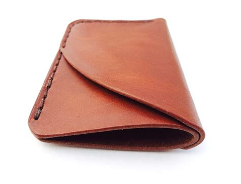 Handmade Leather Wallet - 3 pocket wallet by larsen ross