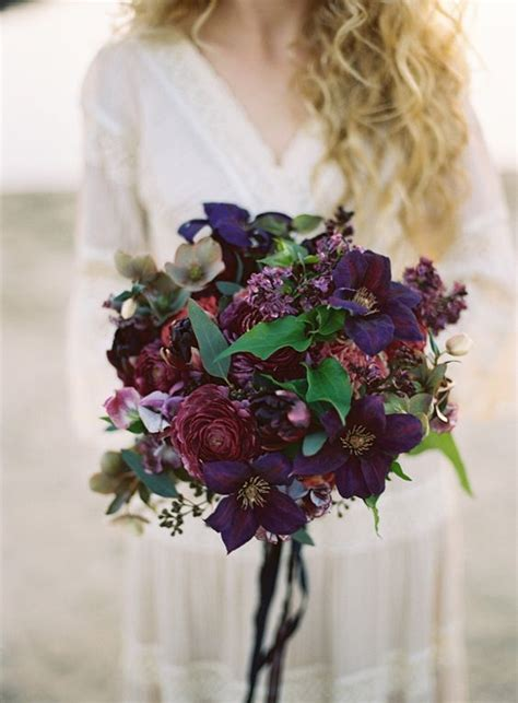 50 shades of darker flower bouquet 1203 best marsala plum and deep purple weddings images on