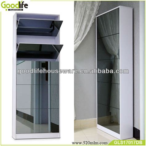 sliding door shoe cabinet sliding door shoe cabinet vertical shoe rack gls17017