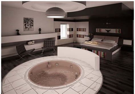 jacuzzi tub in bedroom hot tub in mah bedroom interior bliss pinterest