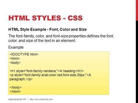 html style color headings paragraphs formatting links css images