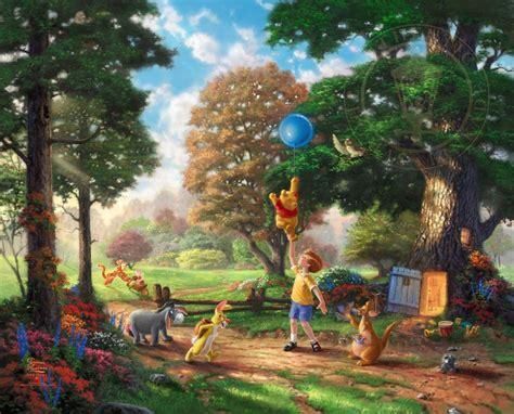 Winnie The Pooh Ii The Kinkade Company