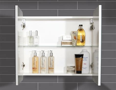 hib bathroom cabinets hib lanzo double door bathroom mirrored cabinet 630 x