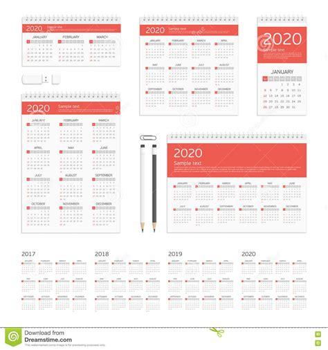 Calendar Corporate Identity Mockup Set Vector Illustration Cartoondealer Com 73546422 Mock Schedule Template