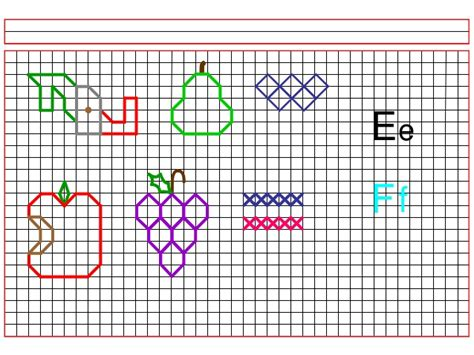 imagenes para dibujar en cuadricula dibujos en cuadriculas c02