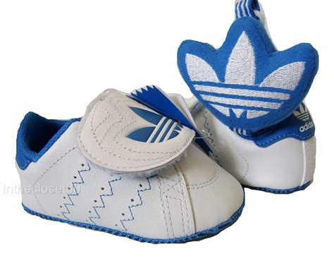 Baby Boy Crib Trainers New Adidas Easy On Baby Boys Crib Shoes Trainers Dummy Lanyard Gift Set White Ebay