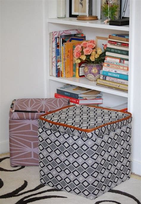 how to make a storage ottoman 17 best images about cardboard storage on pinterest