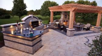 outdoor kitchen patio design ideas home citizen