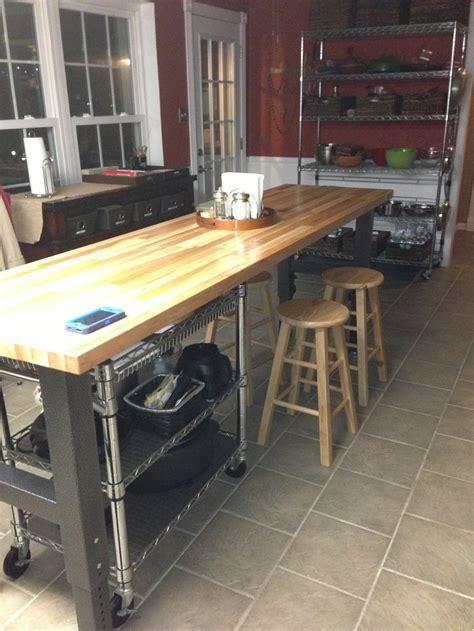 kitchen work benches gladiator workbench as kitchen island islands