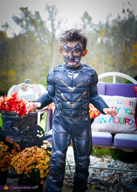 black panther boys costume  minute costume ideas
