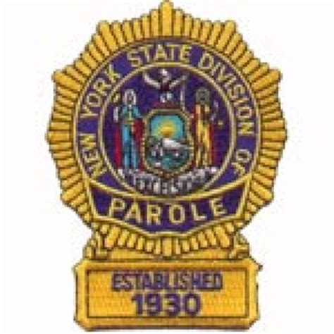 Nys Parole Officer by Parole Officer Brian F Rooney New York State Division Of