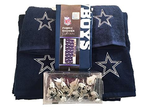 Nfl Dallas Cowboys 6pc Bathroom Accessories Set Home Dallas Cowboys Bathroom Accessories